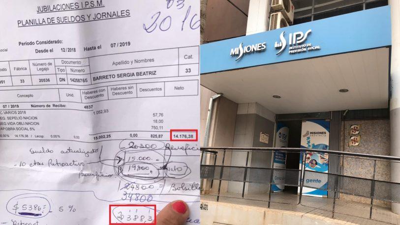 """""""Hace 3 años que cobro $13 mil, hay corrupción en el IPS"""""""