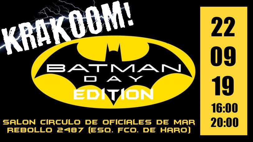 """La 1ª Edición del """"Krakoom!"""" celebrará los 80 años de Batman"""