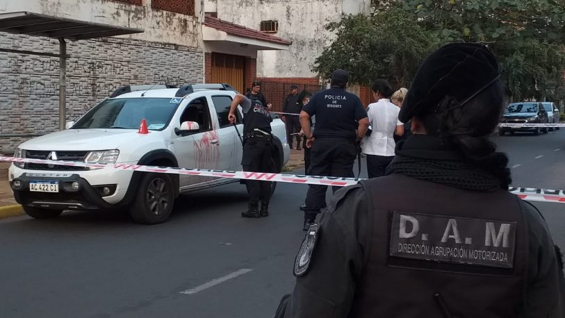 Homicidio en el microcentro de Posadas: un muerto y un detenido
