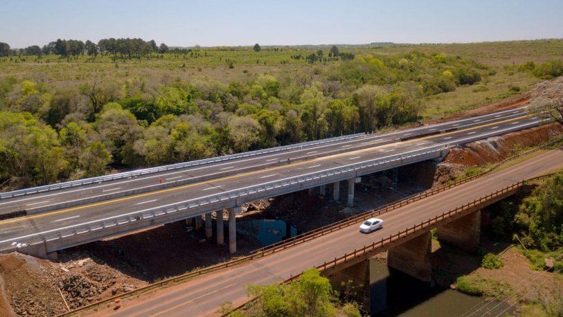 Habilitaron un nuevo tramo de autovía en la ruta 12