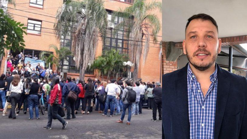 Florentín pidió cumplir la ley que impide los pases a planta
