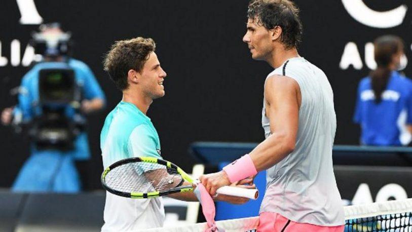 Schwartzman batalló ante Nadal, pero no logró llegar a la semifinal del US Open