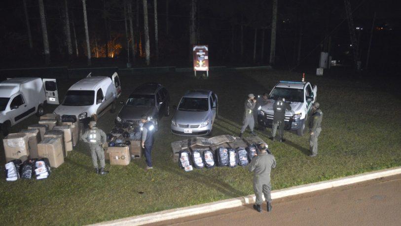 Secuestraron mercaderías por $1.5 millones en Irigoyen