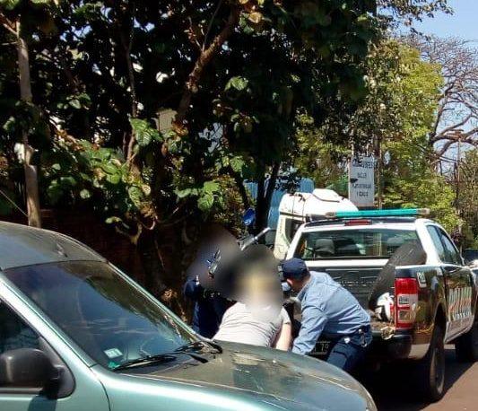 Dos heridos en choque entre moto y auto