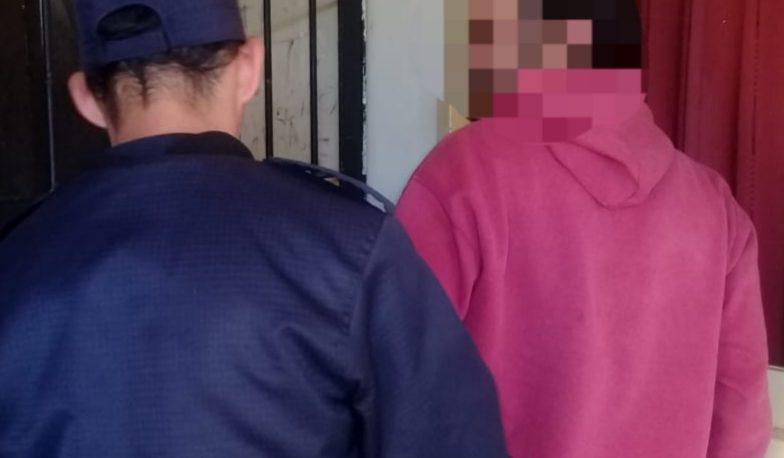 Violento detenido por dejar en grave estado a su ex pareja