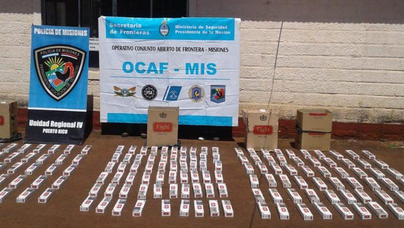 Marihuana y cigarrillos secuestrados en Puerto Rico