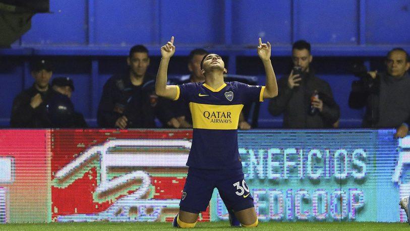 Boca es único puntero de la Superliga tras vencer con lo justo a Estudiantes