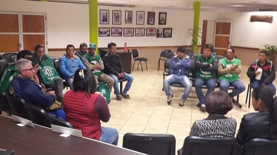 San Pedro: ATE llevó reclamos salarial al HCD