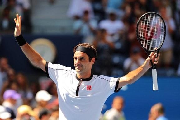 Federer barre a Goffin en el Abierto de Estados Unidos