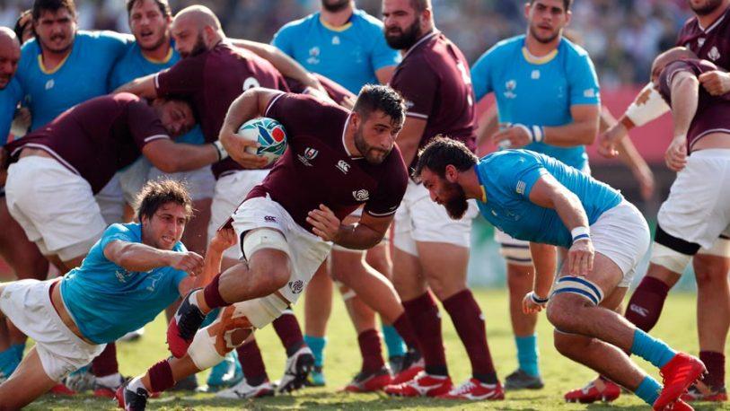 Mundial de Rugby: Gales le ganó a Australia y Uruguay perdió con Georgia
