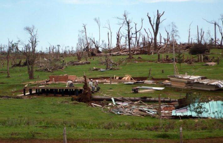 A diez años del tornado de San Pedro