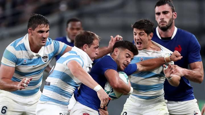 Mundial de Rugby: Los Pumas perdieron con Francia