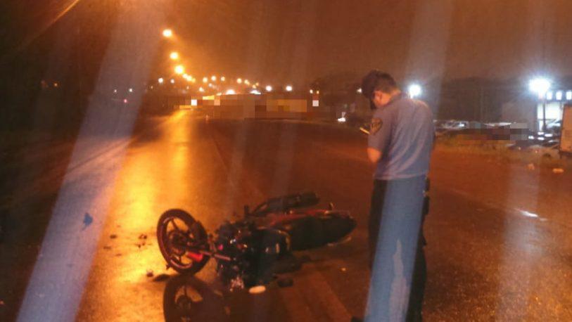 Siniestro vial en la ruta 14 dejó como saldo un joven hospitalizado