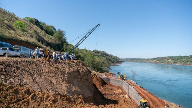 Avanzan las obras del puente entre Brasil y Paraguay