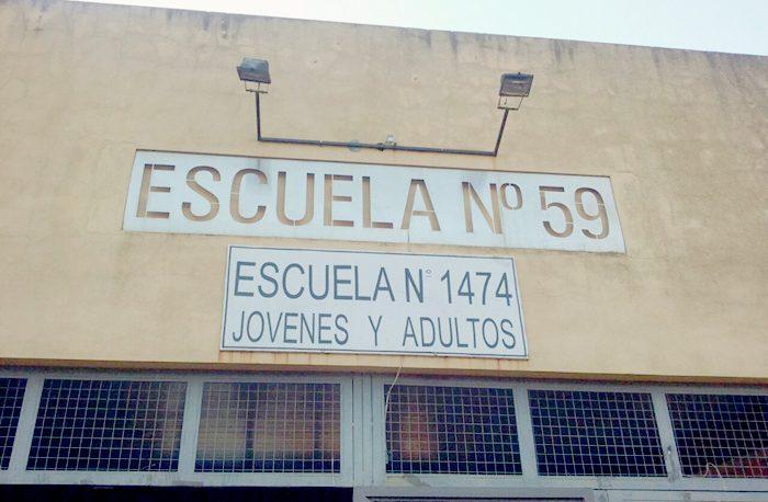 "Se vota normalmente en la escuela ""Juana Azurduy"""