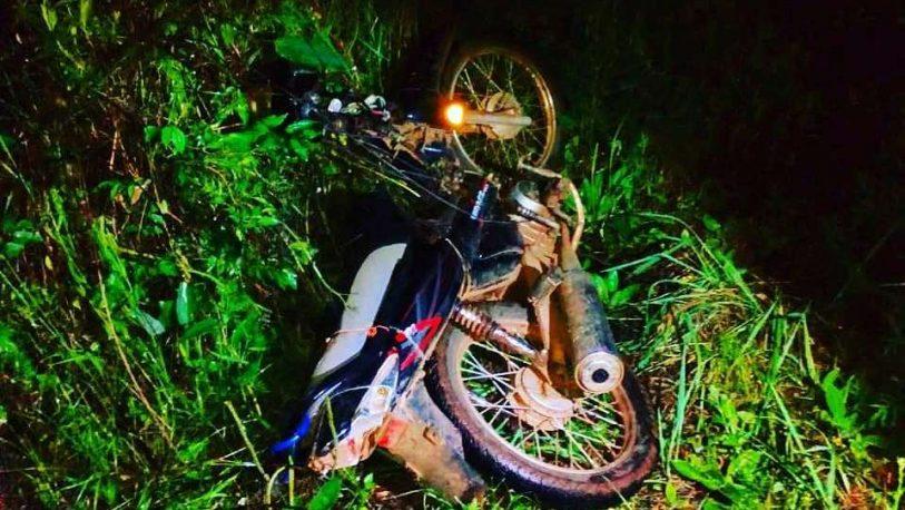 Falleció transeúnte embestido por una moto al mando de un menor