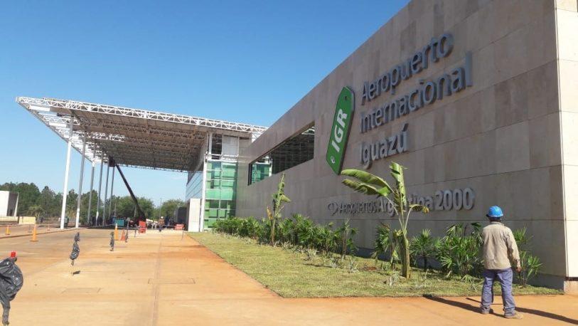 El Aeropuerto de Iguazú sumó 3 rutas y continúa creciendo