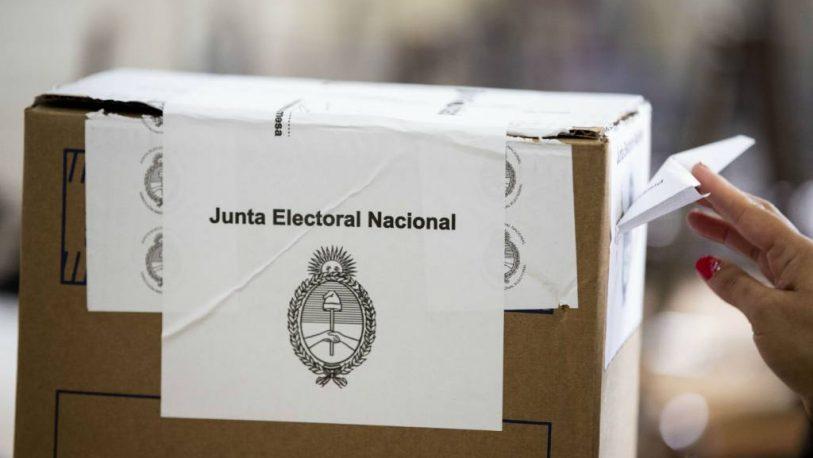 La Junta Electoral autorizó la validez del voto utilizado en las PASO