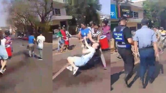 Oberá: liberaron a las mujeres que agredieron a una vecina en la protesta