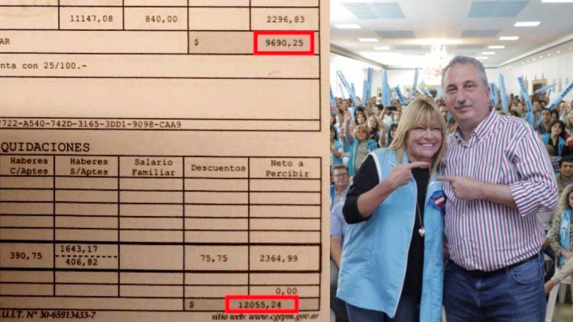 Denuncian que Passalacqua incumple con el salario mínimo docente