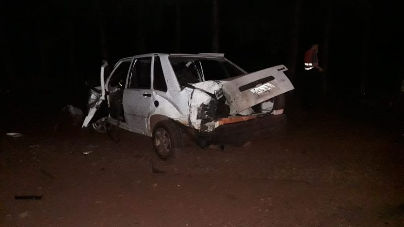 Despiste fatal sobre Ruta Provincial N°9