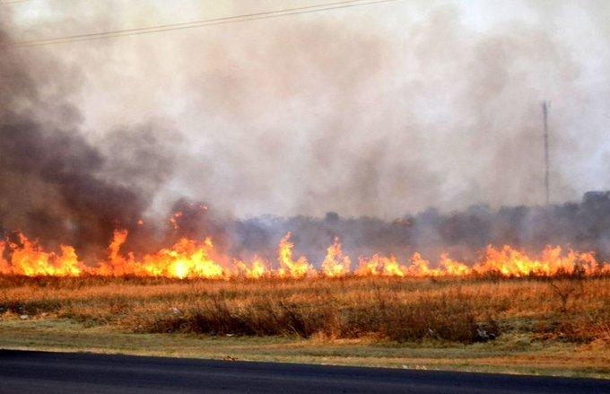 Alerta incendio: continúa la prohibición de quemas