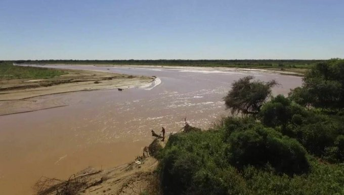 Problemas de provisión de agua por la bajante de ríos en el Chaco