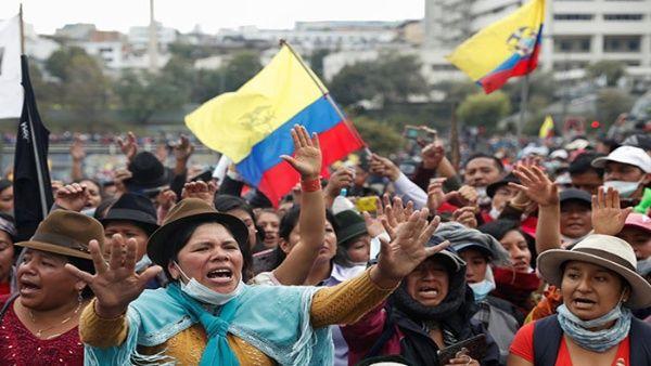 Indígenas ecuatorianos se organizan como partido político