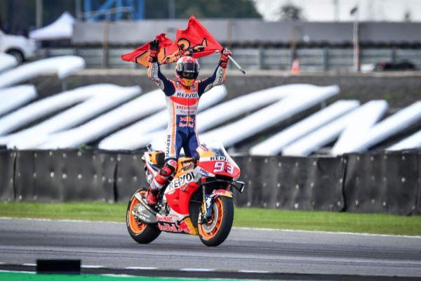 Márquez es campeón mundial del Moto GP por sexta vez
