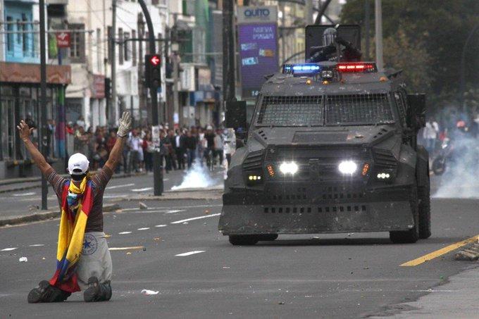 Movimiento indígena ecuatoriano profundiza protestas