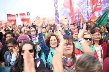Suspendieron el acto de apertura del Encuentro Nacional de Mujeres por las intensas lluvias