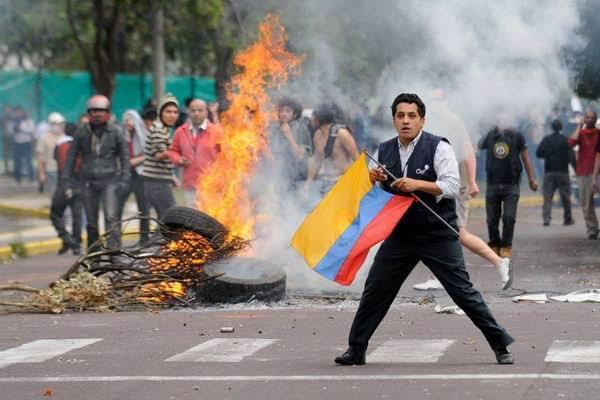 Ecuador: nuevos enfrentamientos entre indígenas y policías