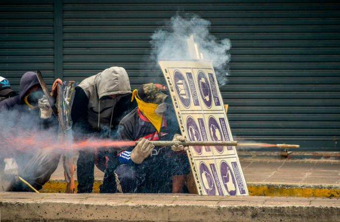 Elevan a 7 muertos, 1.340 heridos y 1.152 detenidos en Ecuador