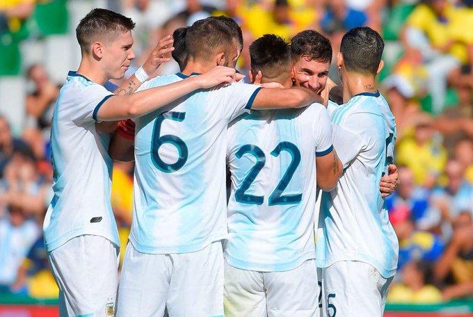 Argentina goleó a Ecuador 6-1 y cerró la fecha FIFA