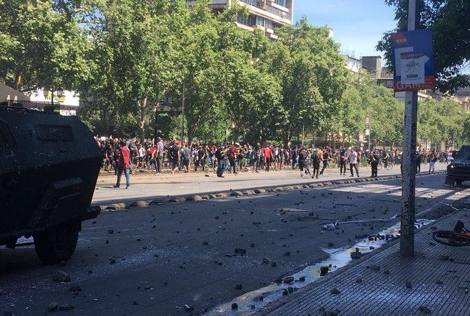 Ascienden a 11 los muertos por los disturbios en Chile