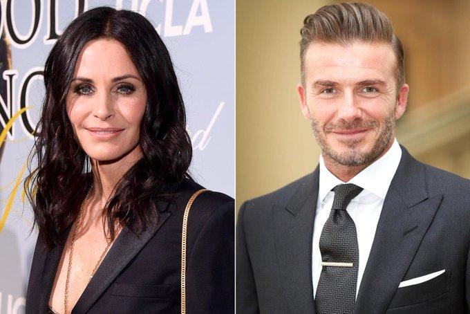 """Courteney Cox y David Beckham juntos en """"Modern Family"""""""