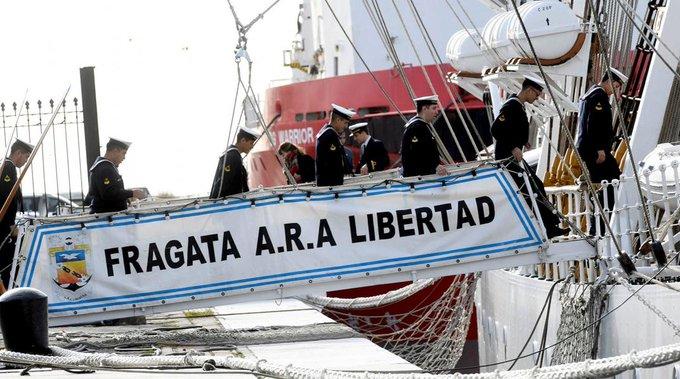 La Fragata Libertad arribará a Londres tras 17 años