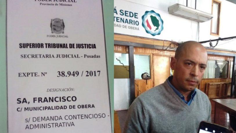 Oberá: el STJ falló a favor del juez de faltas y contra la Municipalidad
