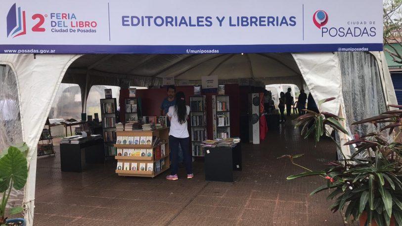 Se realiza la segunda edición de la Feria del Libro de Posadas