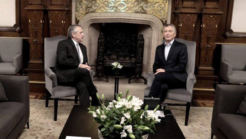 Mauricio Macri se reunió con Alberto Fernández para encarar la transición
