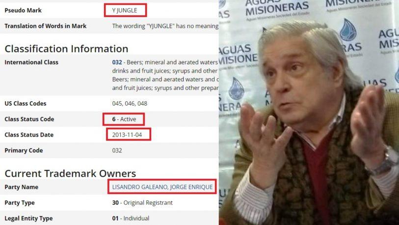 Revelan presunto millonario negociado de Galeano con Agua de las Misiones