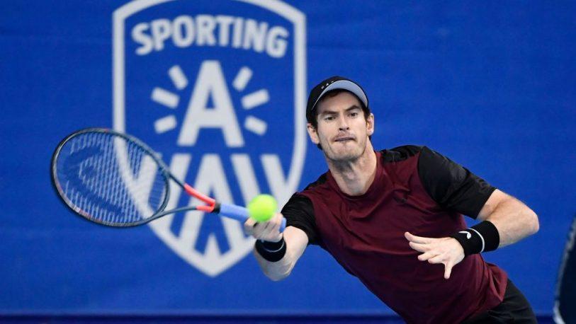 Murray celebró con lágrimas su título en Amberes