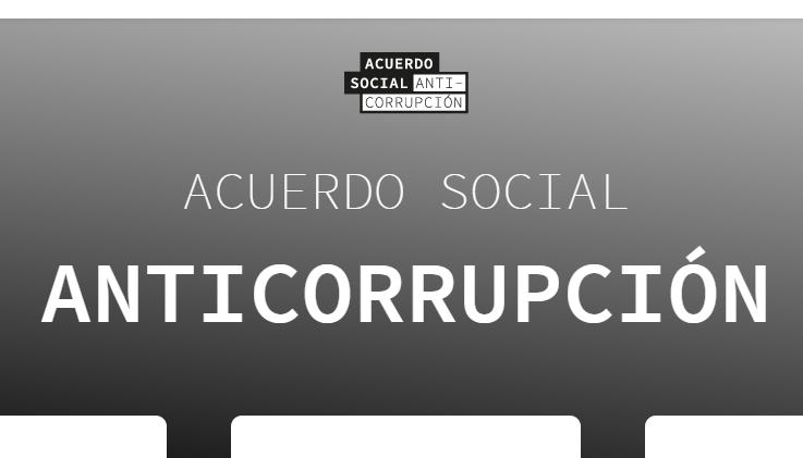 "Convocan a un ""acuerdo social anticorrupción"""