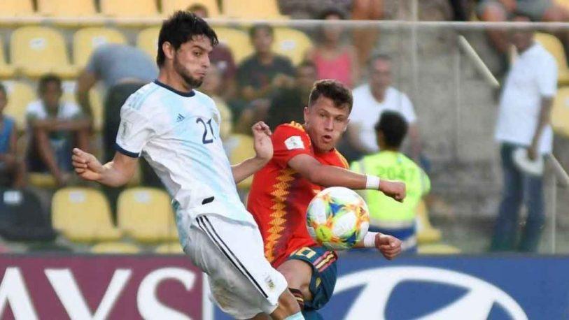 Argentina empató con España en su debut en el Mundial Sub 17