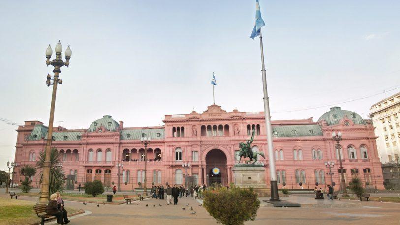 Macri recibe a Alberto Fernández en Casa Rosada