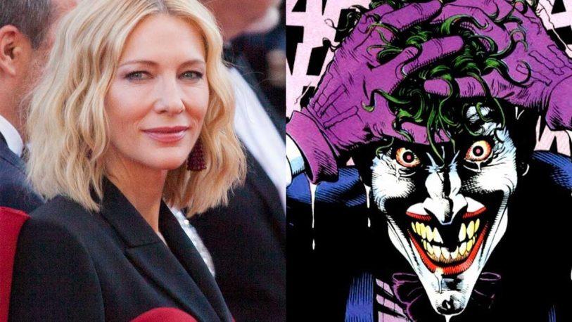 The Batman: proponen a Cate Blanchett como el nuevo Joker