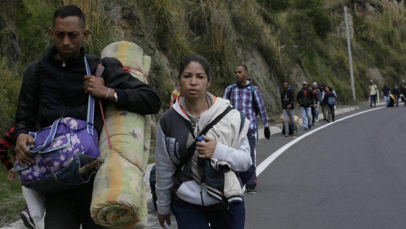 Misiones, lugar de paso para los inmigrantes venezolanos