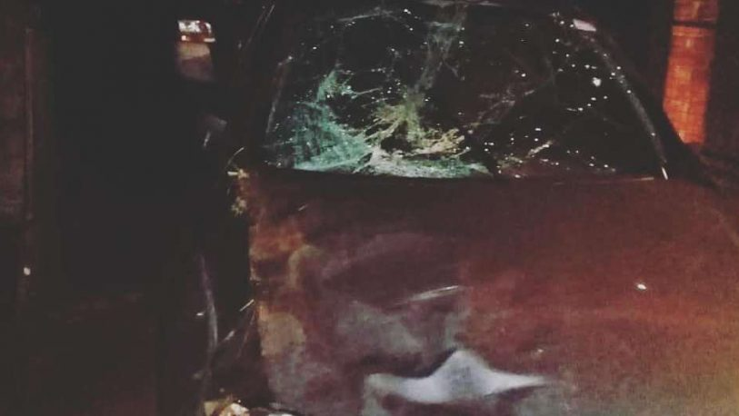 Tres heridos tras despistar en la Ruta 2