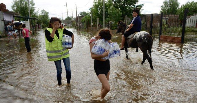 5 mil personas evacuadas en La Matanza