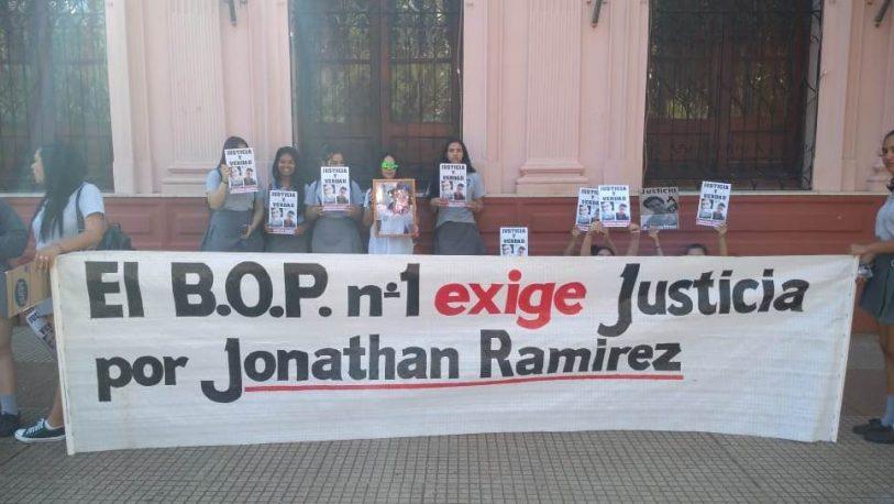Pidieron justicia por Jonathan Ramírez